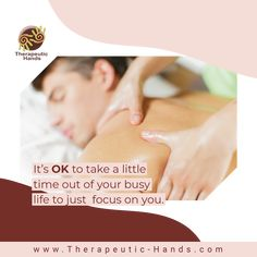 Therapeutic Hands - Mobile Massage Therapy In Home & Hotel Mobile Massage, Getting A Massage, Tummy Tucks, Busy Life, Massage Therapy, Plastic Surgery, Take Care Of Yourself, Health And Wellness, Relax