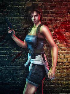 Escape the Nightmare by Pokie-Punk Valentine Resident Evil, Resident Evil Anime, Resident Evil Girl, Shinji Mikami, Evil Pictures, Cool Girl, Cute Girls, Tomb Raider Lara Croft, Jill Valentine