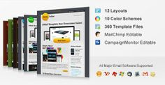 Responsive Email Template Design Service Provider Company India Contact : www.emailchopper.com