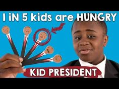 Kid President is back on the campaign trail to help end child hunger with ConAgra. For every view or share of this video, between April 14 through May 9, 2016, ConAgra will donate the monetary equivalent of one meal to Feeding America®, up to 100,000 meals. #childhungerendshere
