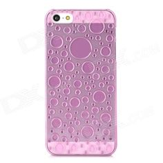 Quantity: 1 Piece; Color: Translucent pink; Material: Plastic; Type: Back Cases; Compatible Models: Iphone 5; Other Features: Protects your Iphone from scratches dust and shock; Packing List: 1 x Protective case; http://j.mp/1lkyGKW