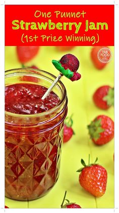 Quick One Punnet Strawberry Jam Prize Winning) Fab Food 4 All - Food: Veggie tables Jam Recipes, Fruit Recipes, Vegan Recipes Easy, Budget Recipes, Canning Recipes, Family Recipes, Delicious Recipes, Dinner Recipes, Strawberry Jam Recipe