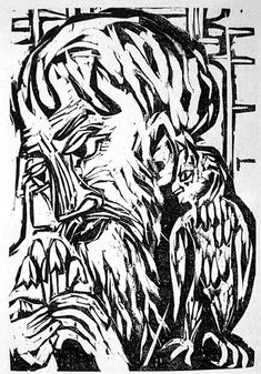 German Expressionist Woodcuts: Ernst Ludwig Kirchner (German, ...    spaightwoodgalleries.com