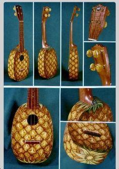 Pineapple Ukelele!!! Reminds me of Hawaii