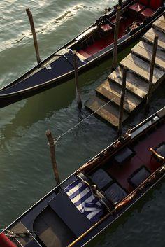Gondolas, Venice, Italy- one day I will ride one!