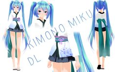 Kimono Miku DL by ChoiMinYeon on DeviantArt