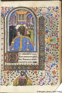 Book of Hours, M.287 fol. 110r - Images from Medieval and Renaissance Manuscripts - The Morgan Library & Museum