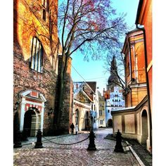 A street in Old RIga.