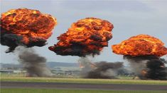 Explosion picture I took at an air show/tattoo