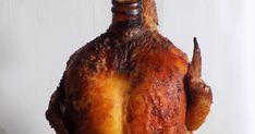 Pyszny, delikatny soczysty z chrupiącą skórką, a wszystko to   dzięki delikatnemu polewaniu się piwem podczas pieczenia.   Kto już próbwał wie że warto, a kto nie mieł okazji   to zapraszam do wypróbowania przepisu :)kurczak pieczony, kurczak z piekarnika, kurczak na piwie, kurczak na butelce, kurczak na butelce przepis, kurczak, piwo, kurczak z piwem, kurczak przepis,