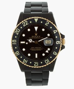 Matte Black ROLEX. Only 50 watches released . Available HERE.