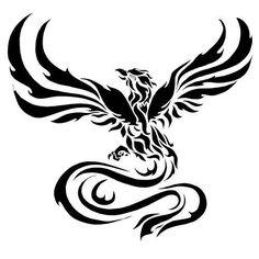 Tribal Phoenix Tattoo, Phoenix Tattoo Design, Phoenix Design, Phoenix Bird Tattoos, Tribal Tattoos, Body Art Tattoos, Tatoos, Tattoo Designs, Phoenix Images