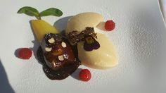 Birnendessert in Eggendorf verschmaust! Panna Cotta, Pudding, Ethnic Recipes, Desserts, Food, Pear Dessert, Summer, Tailgate Desserts, Dulce De Leche