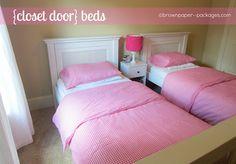 Closet door beds!