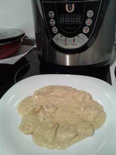 Pollo al curry con nata en olla gm d. Blog sobre recetas de cocina con olla programable GM D