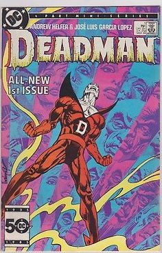 Deadman #1 DC Comics 1986 1st issue first original 9.0+