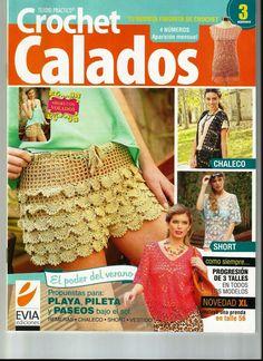 Tejido Practico Crochet Calados №3 2013 - 紫苏 - 紫苏的博客