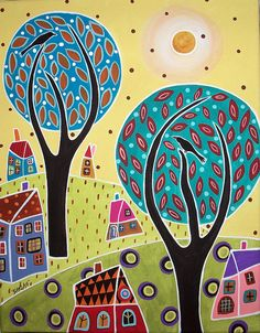 2trees2birds by karlagerard, via Flickr