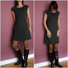 La PRG : Petite Robe Grise - La cabane d'Elilou   blog couture