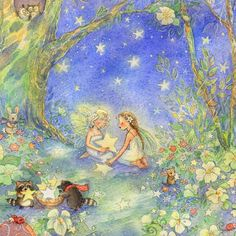 stars and fairies by Becky Kelly