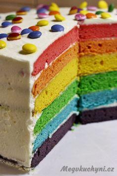 Je mi 26, ale stále ve mně dříme duše dítěte. Neumím si jinak vysvětlit to nadšení, které mě pokaždé chytlo, když jsem uviděla rainbow cake ajeho barvičky. Čím jasnější, tím lepší. Atak jsem si pořád plánovala, že si ho udělám na narozeniny. Nakonec jsem ho …
