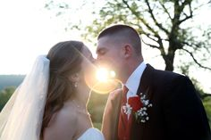 Bride and Groom sealed with a Kiss    www.easphotography.biz