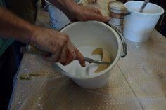 Raku workshop held by ceramic artist Miguel Neto at Arts & Crafts Center. October 2014.