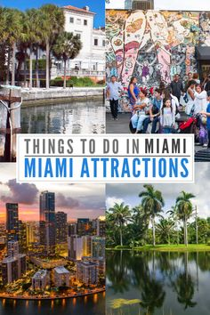 Top Miami Attractions and things to do in Miami that every visitor must experience in Miami Florida for your ultimate Miami Vacation! Miami Florida Vacation, Florida Travel, Travel Usa, Orlando Florida, Solo Travel, Garden Care, Miami Attractions, South Beach Miami, South Florida