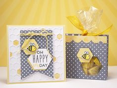 Lawn Fawn - Hello Sunshine, Lemon Lawn Trimmings cord, Harold's ABCs _ HappyBeeday by Yainea for Lawn Fawn Design Team