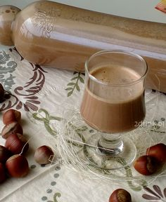 """Likier """"Nutella"""" European Dishes, Nutella, B Food, Polish Recipes, Smoothie Drinks, Holiday Recipes, Delicious Desserts, Food And Drink, Homemade"""