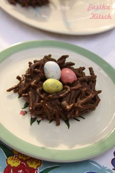 food craft? making candy nests for spring/easter