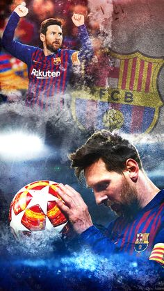 Lionel Messi Barcelona player mobile wallpaper when football becomes wwe