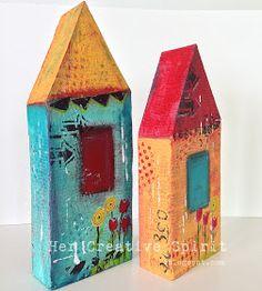 Her Creative Spirit: Whimsical Houses