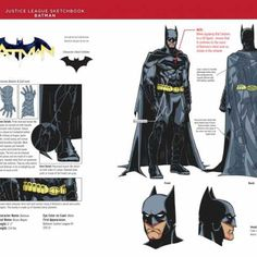 Justice League Sketchbook Batman