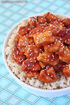 BAKED SWEET & SOUR CHINESE CHICKEN   Idees And Solutions