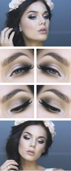 Bring out the best in your eyes with blush shadow and black top liner. Create your favorite look at Beauty.com.