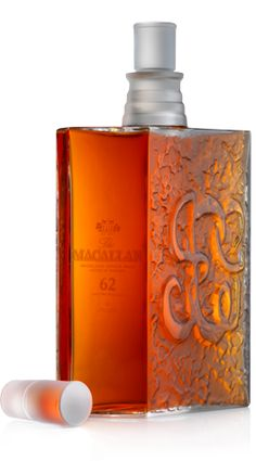 The Macallan 62 year old in a Lalique bottle