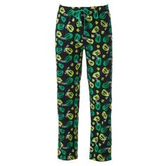 Men's St. Patrick's Day Lounge Pants, Black