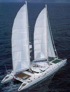 Double Sails Catamaran