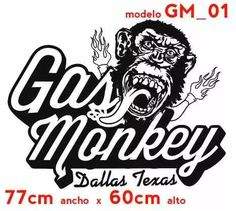 Gas monkey bar and grill logo