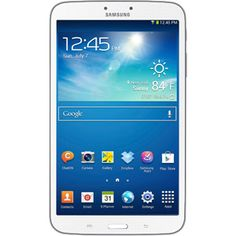 "Samsung Galaxy Tab 3  8"" Tablet with 16GB Memory, White"