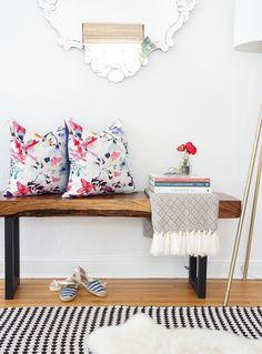 No-Sew Envelope Pillows Made from Napkins | Sugar & Cloth