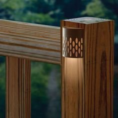 Saguaro Solar-Powered Deck Light