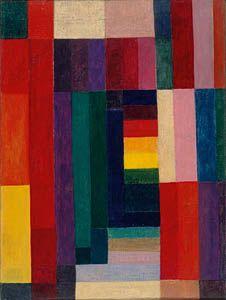 Johannes Itten / Horizontal-Vertical / 1915