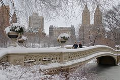 """"""" Romantic NYC by magicofnewyork"""" I Love Ny, Chrysler Building, Chula, City That Never Sleeps, Central Park, Winter Holidays, Brooklyn Bridge, Empire State Building, Adventure Time"""