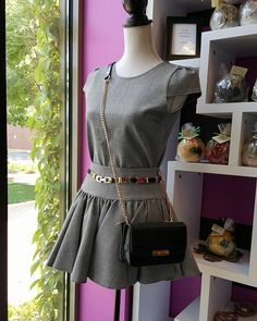 GREY SET TOP AND SKIRT   OUR ONLINE STORE COMING SOON https://www.leobsession.com/
