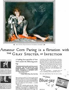 The horror of amateur corn paring. Walter W. Seaton, 1927