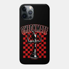 Checkmate Black King Chess Player Grandmaster Winner Red - Checkmate - Phone Case | TeePublic Samsung Galaxy Gift, Samsung Cases, Chess Players, Black King, Cool Phone Cases, Wallet, Iphone, Shop, Red