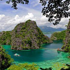 coron bay @ busuanga island, philippines