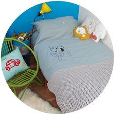 Ropa cama Mimi`Lou - Mamidecora http://www.mamidecora.com/textil.%20mimi'lou.html